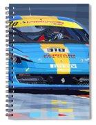 2012 Ferrari 458 Challenge Team Ukraine 2012 Spiral Notebook