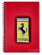 Ferrari Badge Spiral Notebook