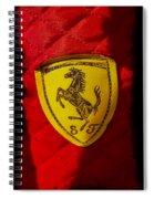 Ferrari Emblem Spiral Notebook