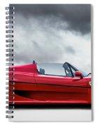 Ferrari F50 Spiral Notebook
