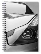 Ferrari Headlight Spiral Notebook