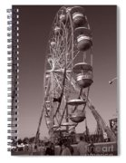 Ferris Wheel 1 Spiral Notebook
