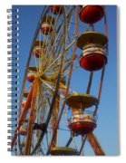Ferris Wheel 2 Spiral Notebook