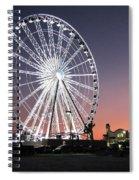Ferris Wheel 22 Spiral Notebook
