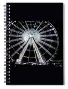 Ferris Wheel 8 Spiral Notebook