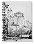 Ferris Wheel And R F P Pavilion - Spokane Washington Spiral Notebook