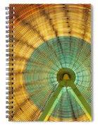 Ferris Wheel Evergreen State Fair Spiral Notebook