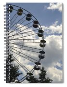 Ferris Wheel In The Sky Spiral Notebook