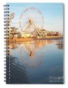 Ferris Wheel Jersey Shore 2 Spiral Notebook