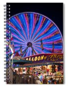 Ferris Wheel Rides And Games Spiral Notebook