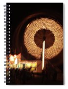Ferris Wheel Spin Spiral Notebook