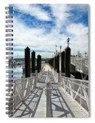 Ferry Dock Spiral Notebook