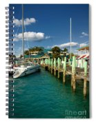 Ferry Station Paradise Island Spiral Notebook