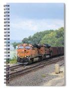 Ferryville Train Spiral Notebook