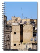 Fes Cityscape In Morocco Spiral Notebook