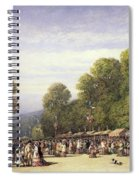Festival At St. Cloud, C.1860 Spiral Notebook