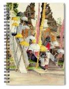 Festival Hindu Ceremony Spiral Notebook