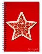 Festive Star Spiral Notebook