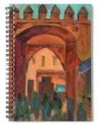Fez Town Scene Spiral Notebook