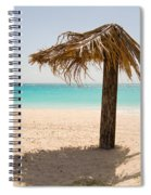 Ffryers Beach Hut Spiral Notebook