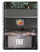 Fiat 500 Abarth Spiral Notebook