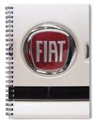 Fiat Logo Spiral Notebook