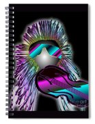Fiddler In The Band Electric Spiral Notebook