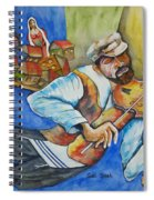 Fiddler On The Roofs Spiral Notebook