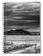 Fidra Island Lighthouse Spiral Notebook
