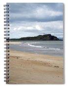 Fidra Island Lighthouse Spiral Notebook