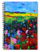 Field Flowers Spiral Notebook