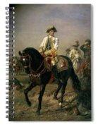 Field Marshal Baron Ernst Von Laudon 1717-90, General In The Seven Years War And War Of Bavarian Spiral Notebook