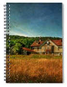 Field Of Broken Dreams Spiral Notebook