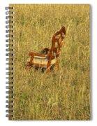 Field Of Chair Spiral Notebook