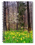 Field Of Daffodils Spiral Notebook
