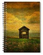 Field Of Dandelions Spiral Notebook