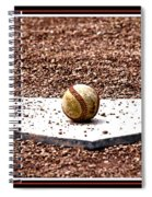 Field Of Dreams The Ball Spiral Notebook