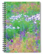 Field Of Flowers In Nature Spiral Notebook