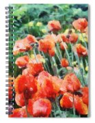 Field Of Flowers Spiral Notebook