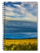 Field Of Gold  Spiral Notebook