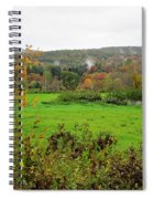 Field Of Green Spiral Notebook