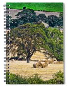 Field Of Hay Spiral Notebook