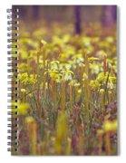 Field Of Pitcher Plants Spiral Notebook