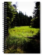 Field Of Possibilities Spiral Notebook