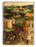 Field Of The Cloth Of Gold Spiral Notebook