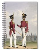 Field Officers Of The Royal Marines Spiral Notebook