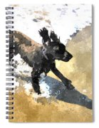 Field Spaniel Joy Spiral Notebook