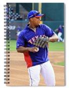 Fielding Practice Spiral Notebook