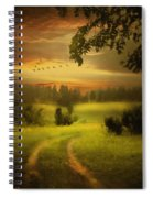 Fields Of Dreams Spiral Notebook