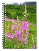 Fields Of Fireweed Spiral Notebook